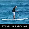stand up paddling  image
